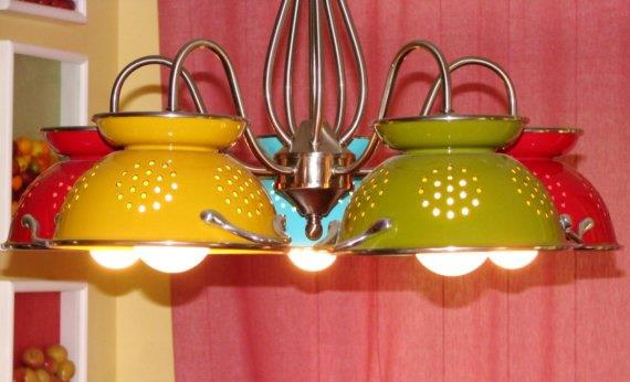 Lampshades http www diyinspired com upcycling ideas for the kitchen
