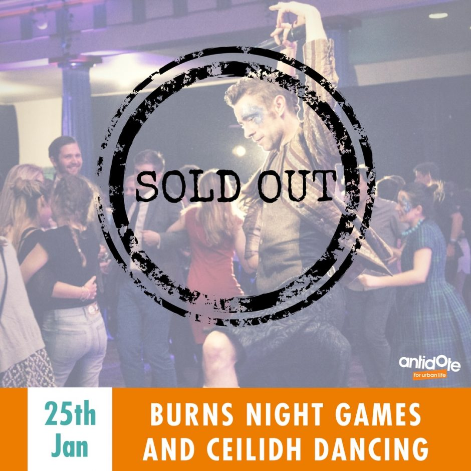 SOLD OUT – Burns Night Games and Ceilidh Dancing